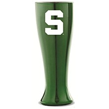 Michigan State Glass Pilsner - Solid Color 16 oz
