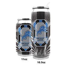 Detroit Lions stainless steel Thermocan 16.9oz