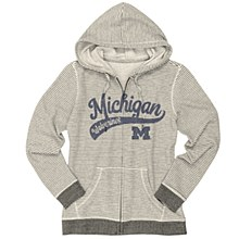 University of Michigan Ladies Sanded Fleece Full Zip