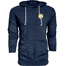 University of Michigan Men's Tri-Blend Hooded Tee
