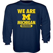 University of Michigan Youth Mill Dyed Long Sleeve Tee