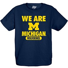 University of Michigan Youth Mill Dyed Short Sleeve Tee