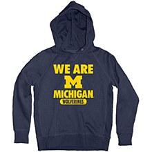 University of Michigan Youth Sanded Fleece Hood