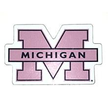 University of Michigan Magnet - Small 3 Block M Car Magnet