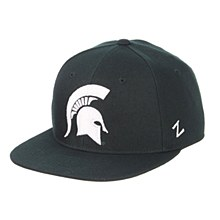 Michigan State University M15 Mid Dark Forest Green ZClassic Fitted Hat 7 1/2