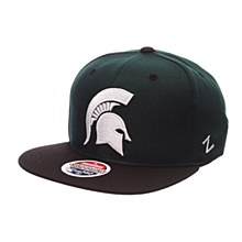 Michigan State University Rally Hat Green-White