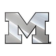 University of Michigan Emblem Metal