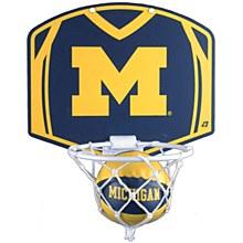 University of Michigan Basketball Hoop & Ball Set 12'' x 9''