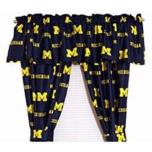 University of Michigan Wolverines Printed Curtain Panels