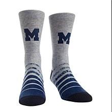 University of Michigan Socks - Vintage Heather