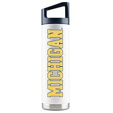 University of Michigan Water Bottle - Stainless Steel 22oz White