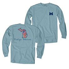 University of Michigan Overdyed Long Sleeve T-shirt