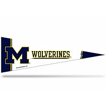 University of Michigan Pennant - The Middle Man Pennant 5'' X 15''