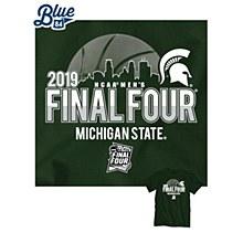 Michigan State Spartans 2019 Final Four Green Buzzed T-Shirt