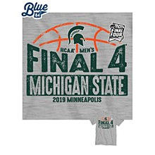 Michigan State Spartans 2019 Final Four Gray Kinder T-Shirt