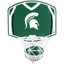 Michigan State University Basketball Hoop & Ball Set 12'' x 9''