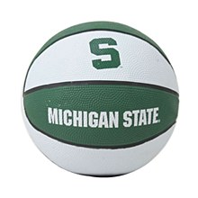 Michigan State University Basketball - Mini Rubber Basketball 7.5''
