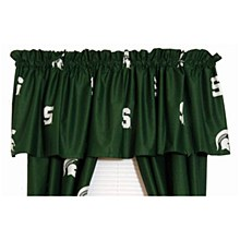 Michigan State Spartans Printed Curtain Valance 84'' x 15''