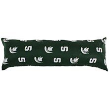 """Michigan State University Bedroom - Spartans Printed Body Pillow - 20"""" x 60"""""""
