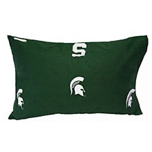 Michigan State University Bedroom - Spartans Printed Pillow Case - 20'' x 30''