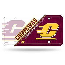 Central Michigan University Metal Tag