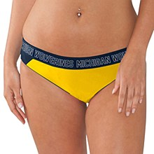 G-III Sports by Carl Banks University of Michigan Women's ''Squeeze Play'' Bikini Bottom