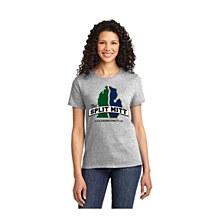 The Split Mitt Logo T Grey SM