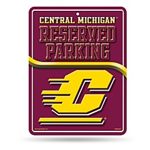 Central Michigan University Sign Metal Parking Sign