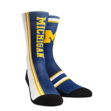 University of Michigan Socks - Jersey Series Blue