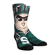 Michigan State University Socks - Sparty Mascot Crew Youth