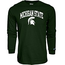 Michigan State University Men's Mill Dyed Long Sleeve T-Shirt