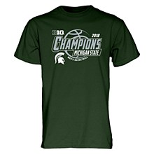 Michigan State Big Ten Champs Locker Room T Shirt