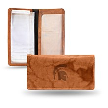 Michigan State University Checkbook - Embossed
