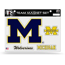 University of Michigan Magnet Bling Team Set