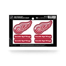 Detroit Red Wings Sticker Sheet