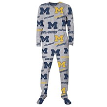 University of Michigan ''Achieve'' Microfleece Union Suit