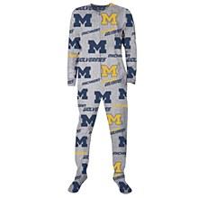 University of Michigan ''Achieve'' Microfleece Union Suit