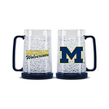University of Michigan Mug -Crystal Freezer Mug