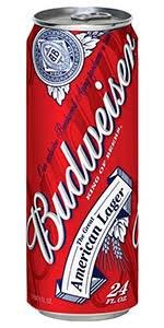 Budweiser 24oz Can