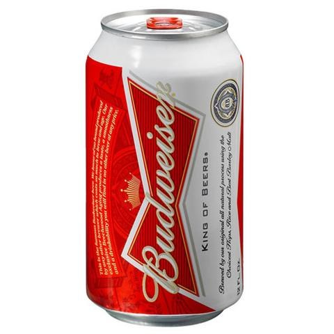 + Bud Cans 6pk +