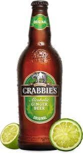 Crabbie's Ginger Beer 4pk Bottles