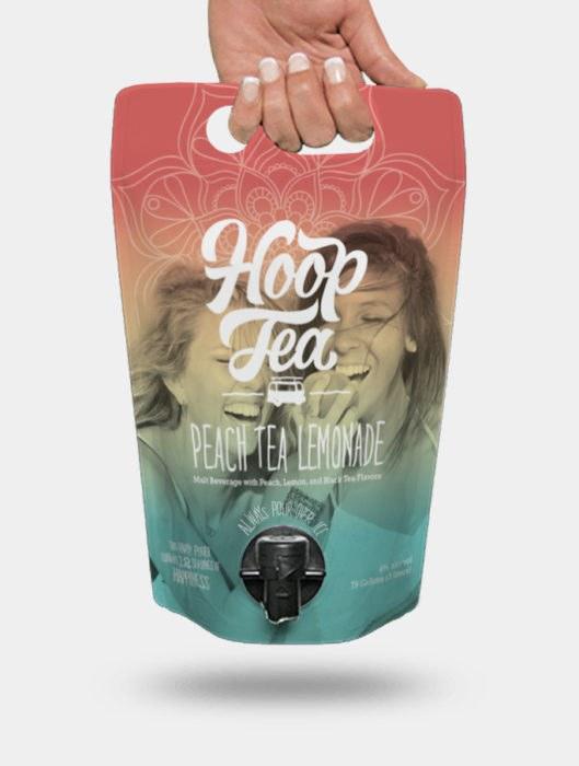 Hoop Tea Peach Lemonade 3L