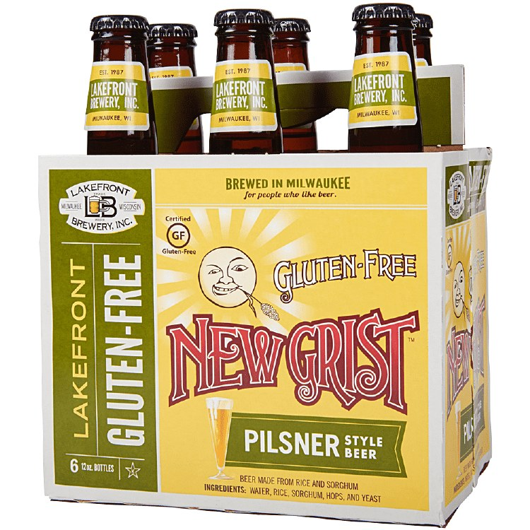 Lakefront New Grist Gluten Free 6pk