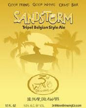 3rd Wave Sandstorm Tripel 6pk