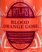 Atlas Blood Orange Gose 6pk