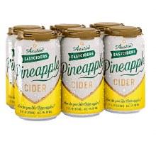 Austin Pineapple Cider 6pk Cans