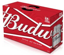 Bud Cans 24pk