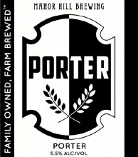 Manor Hill Porter 6pk