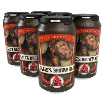 Avery Ellie's Brown Ale 6pk CANS