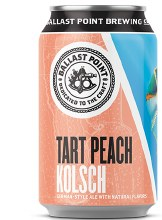 Ballast Point TartPeach Kolsch 6pk CANS